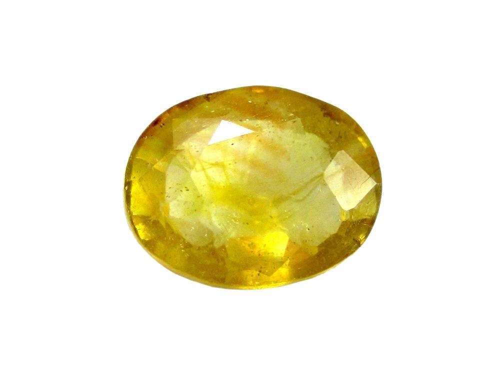 Yellow Sapphire - 3.94 Carat - GFE07009 - Main Image