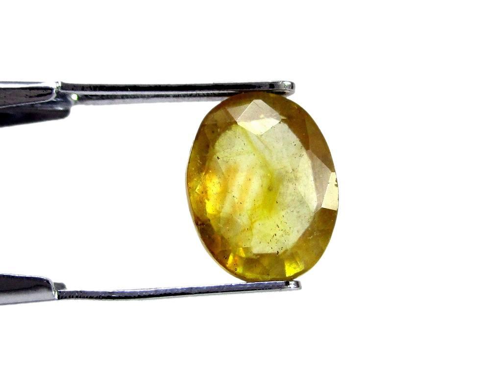Yellow Sapphire - 3.94 Carat - GFE07009 - Image 2