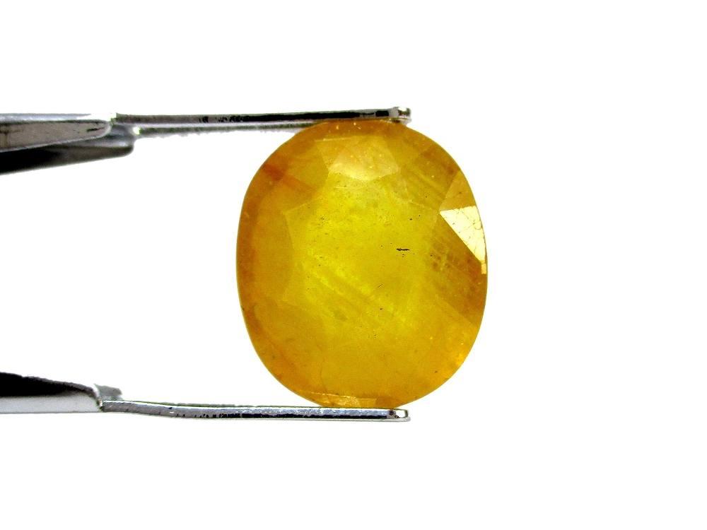 Yellow Sapphire - 7.02 Carat - GFE07016 - Image 2