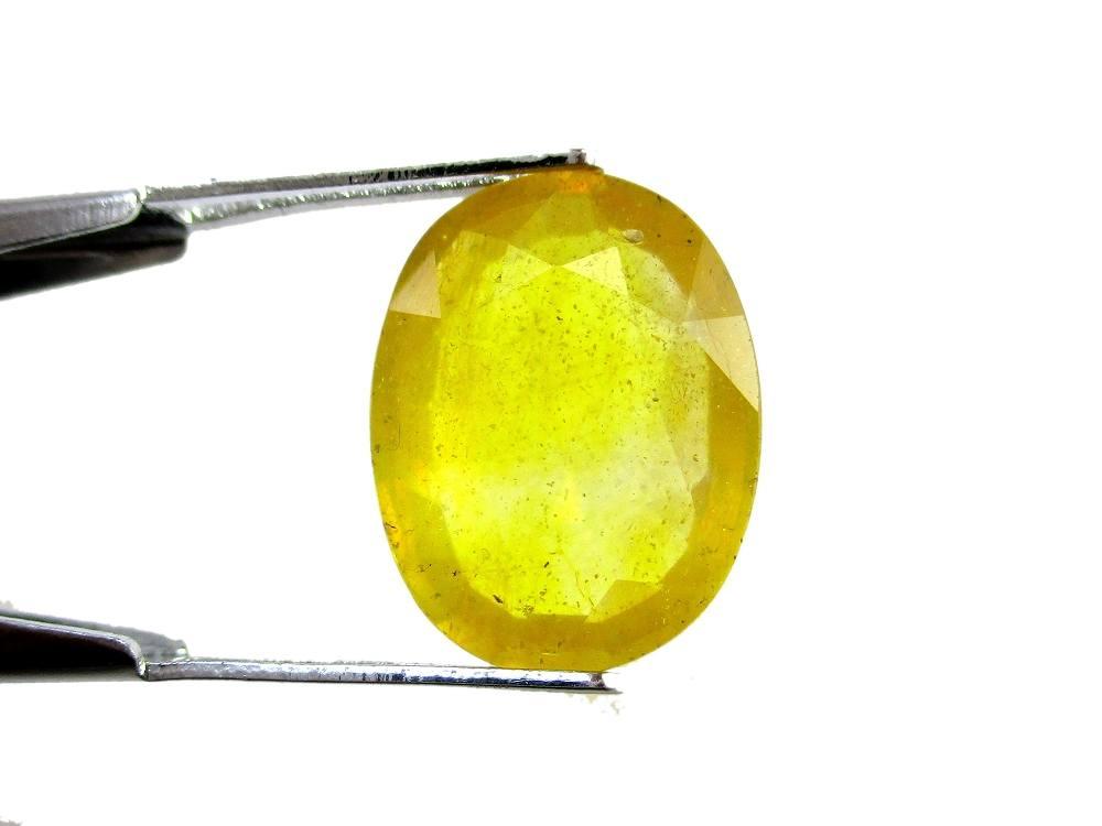 Yellow Sapphire - 7.60 Carat - GFE07017 - Image 2