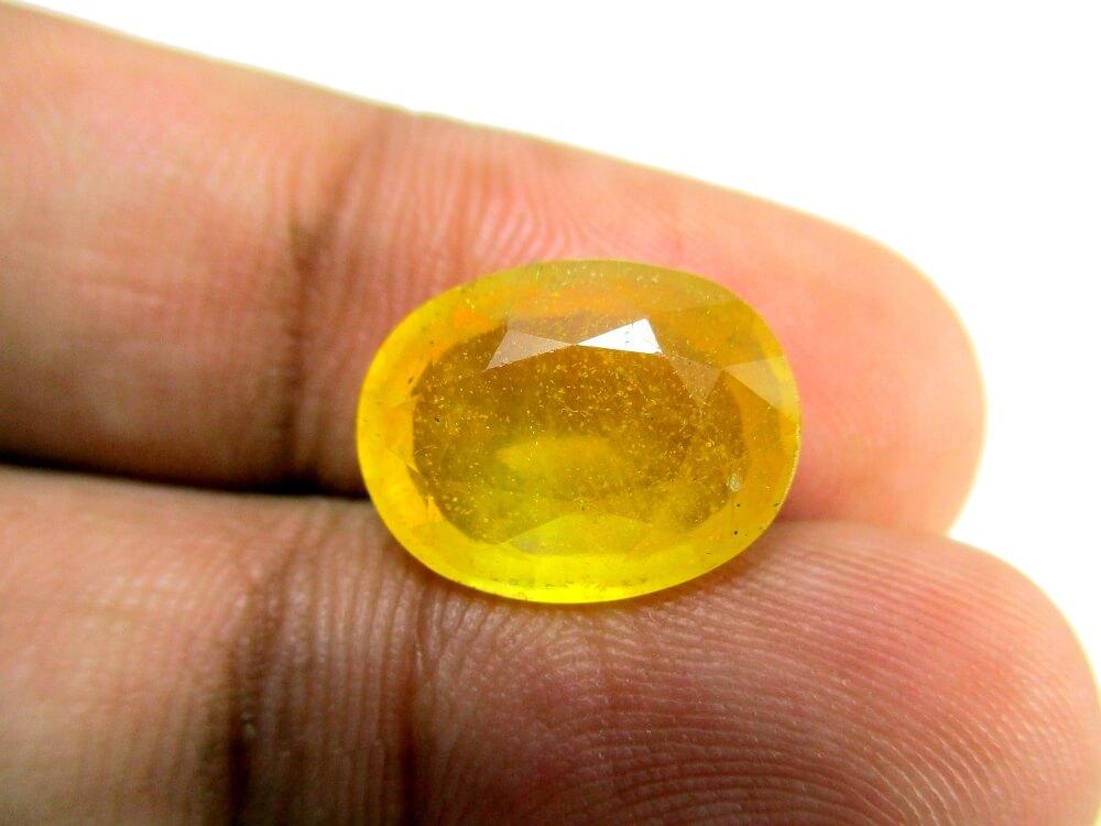 Yellow Sapphire - 7.60 Carat - GFE07017 - Image 3