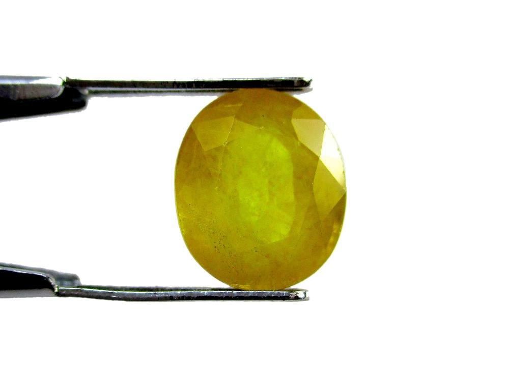 Yellow Sapphire - 4.78 Carat - GFE07022 - Image 2