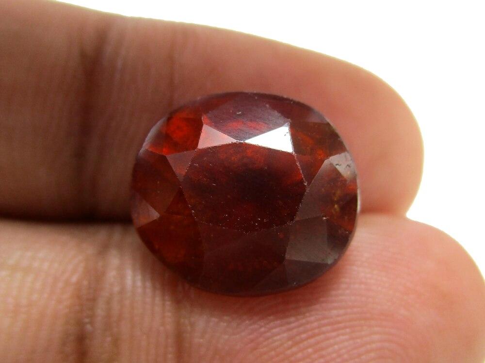 Hessonite Garnet - 10.40 Carat - GFE09076 - Image 3