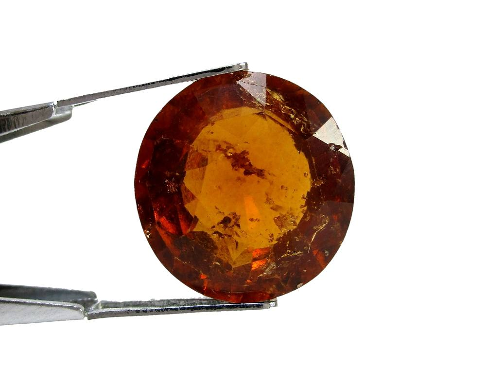 Hessonite Garnet - 12.30 Carat - GFE09077 - Image 2