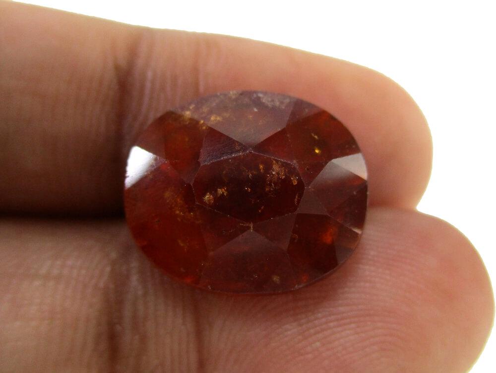 Hessonite Garnet - 13.38 Carat - GFE09078 - Image 3